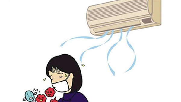 天太热命都是空调给的?空调风也伤人常吹做好预防